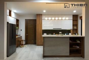 Tủ bếp tại Biệt thự Bình Long - Bình Phước