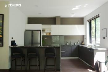 Công trình tủ bếp ở Mimosa Ecopark