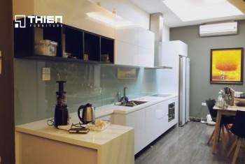 Tủ bếp Acrylic nhà anh Thanh - Doãn Kế Thiện
