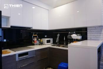 Thiên Furniture - Thi công tủ bếp ở Vinaconex 2 - Tòa C - Hà Nội