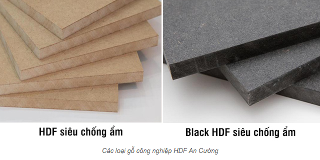 Gỗ công nghiệp lõi HDF An Cường